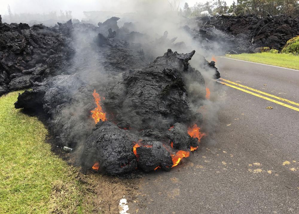 Hawaii'de yanardağ alarmı 23