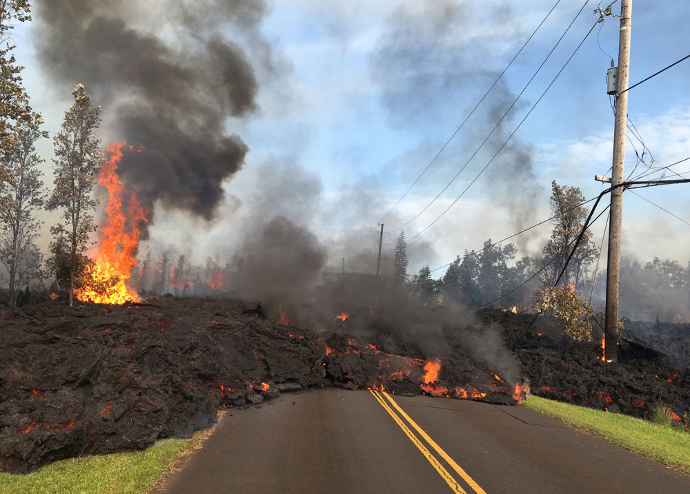 Hawaii'de yanardağ alarmı 3
