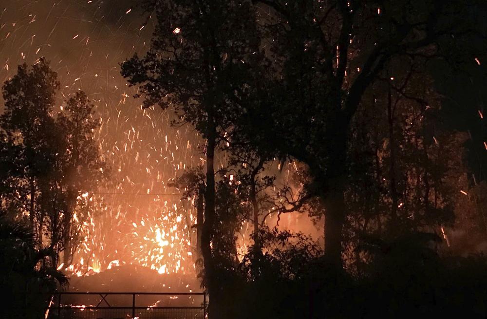 Hawaii'de yanardağ alarmı 4