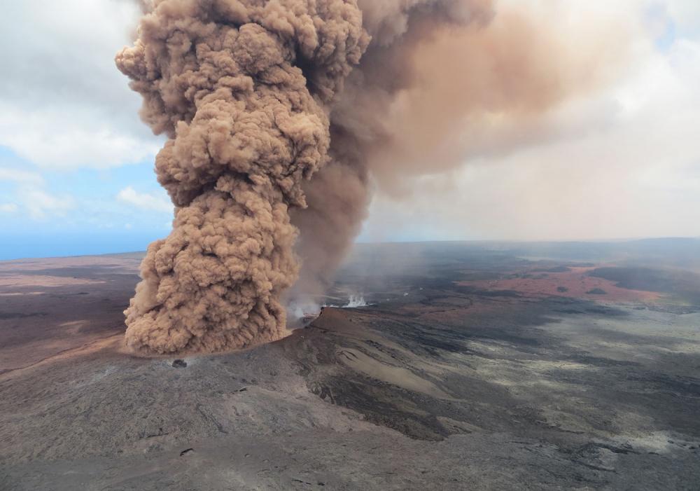 Hawaii'de yanardağ alarmı 6
