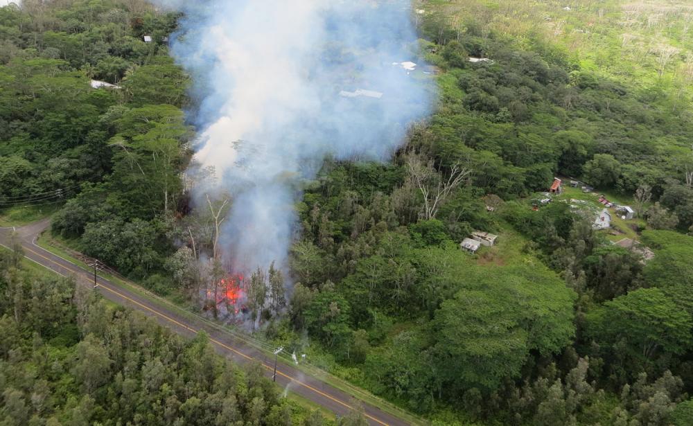 Hawaii'de yanardağ alarmı 7