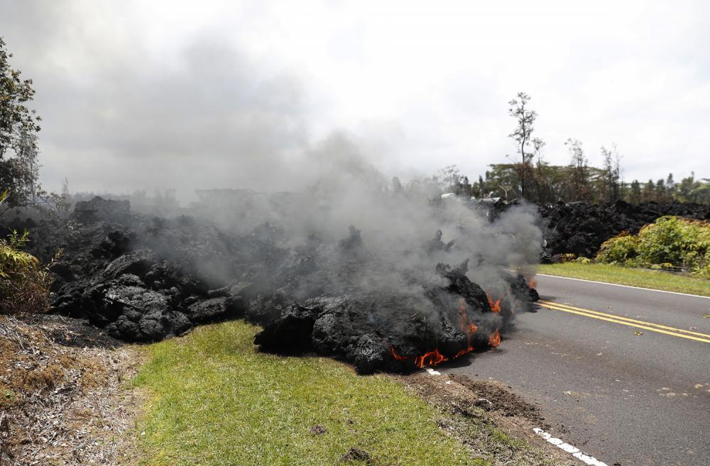 Hawaii'de yanardağ alarmı 8