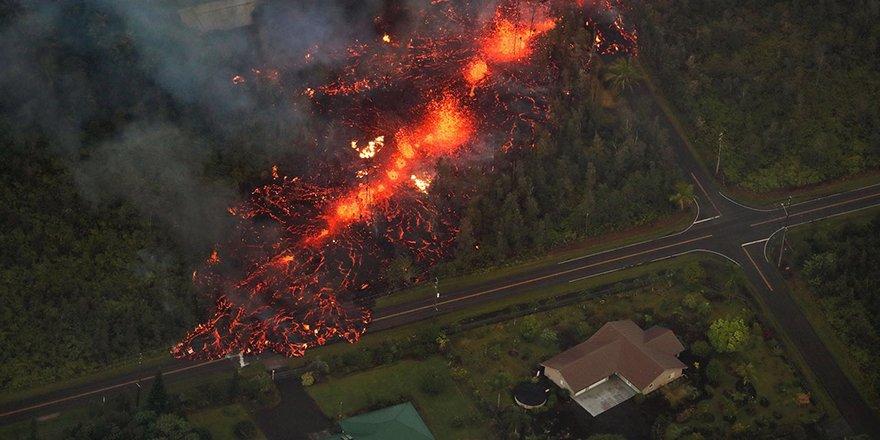 Hawaii'de yanardağ alarmı