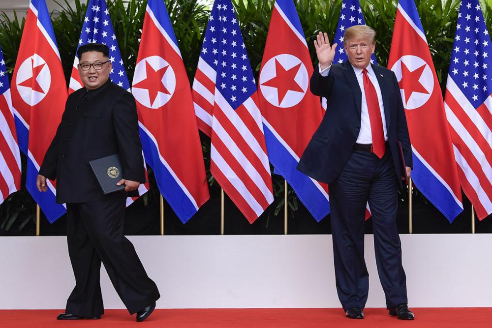 Trump-Kim zirvesinden kareler 6