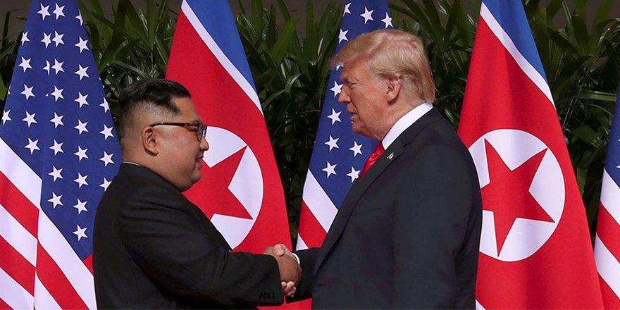 Trump-Kim zirvesinden kareler