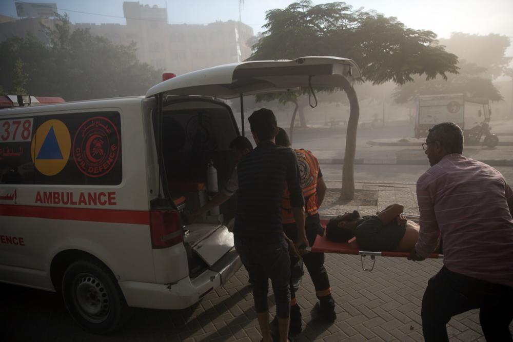 2014'ten bu yana Gazze'ye düzenlenmiş en büyük İsrail saldırıs 1