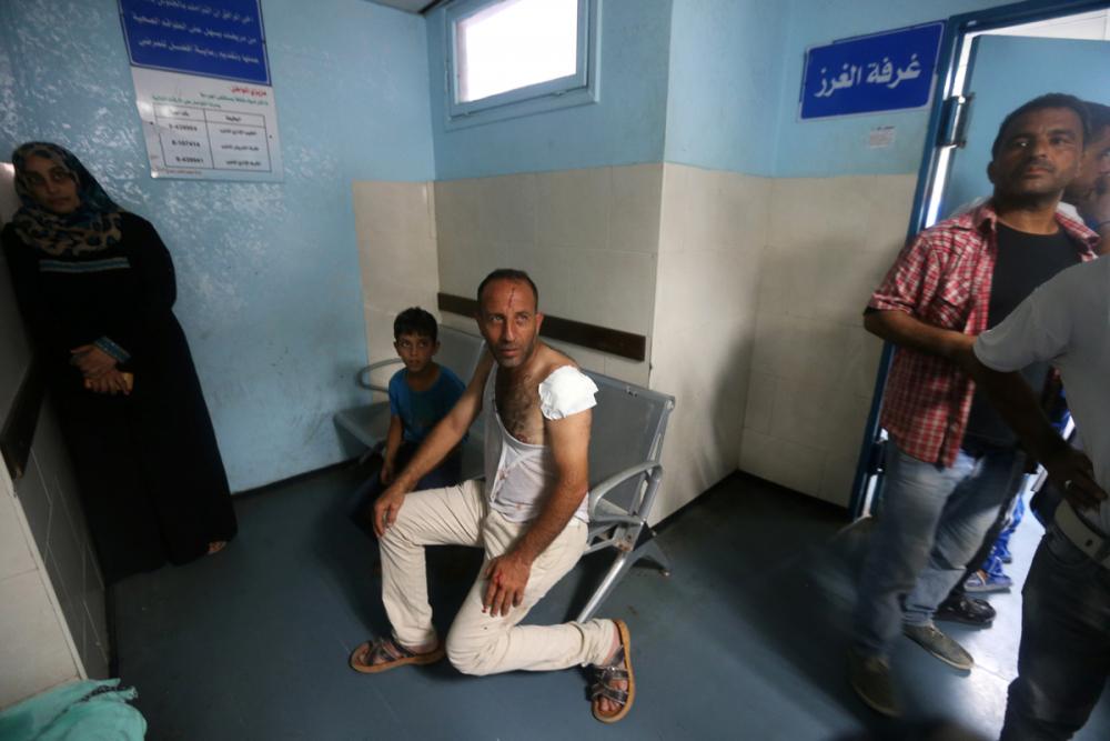 2014'ten bu yana Gazze'ye düzenlenmiş en büyük İsrail saldırıs 3