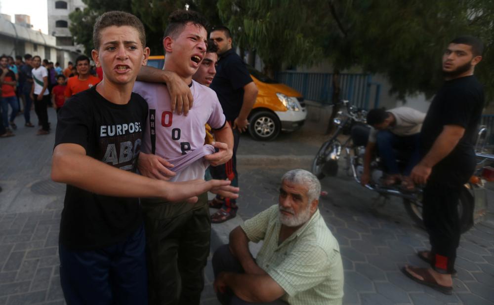 2014'ten bu yana Gazze'ye düzenlenmiş en büyük İsrail saldırıs 4