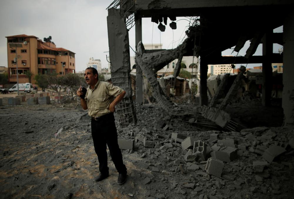 2014'ten bu yana Gazze'ye düzenlenmiş en büyük İsrail saldırıs 5