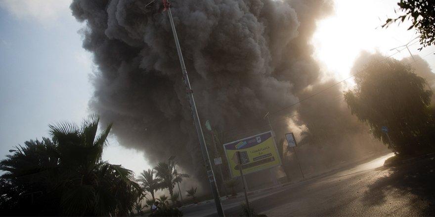 2014'ten bu yana Gazze'ye düzenlenmiş en büyük İsrail saldırıs