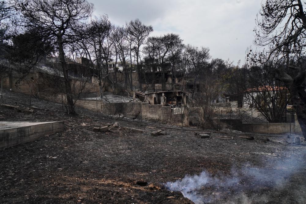 Yunanistan tarihinin en büyük yangını 10