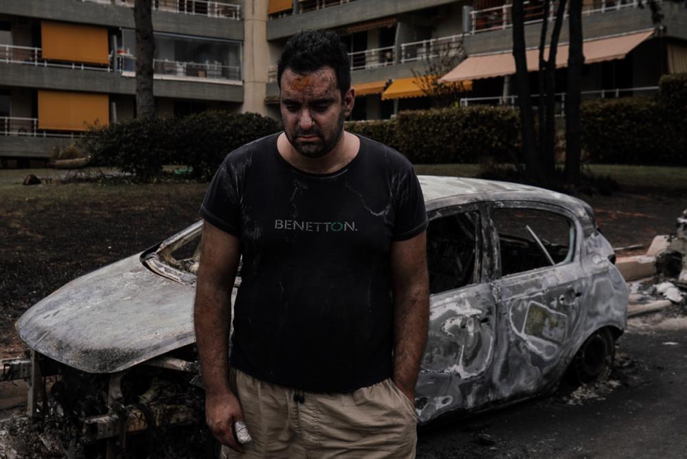 Yunanistan tarihinin en büyük yangını 11