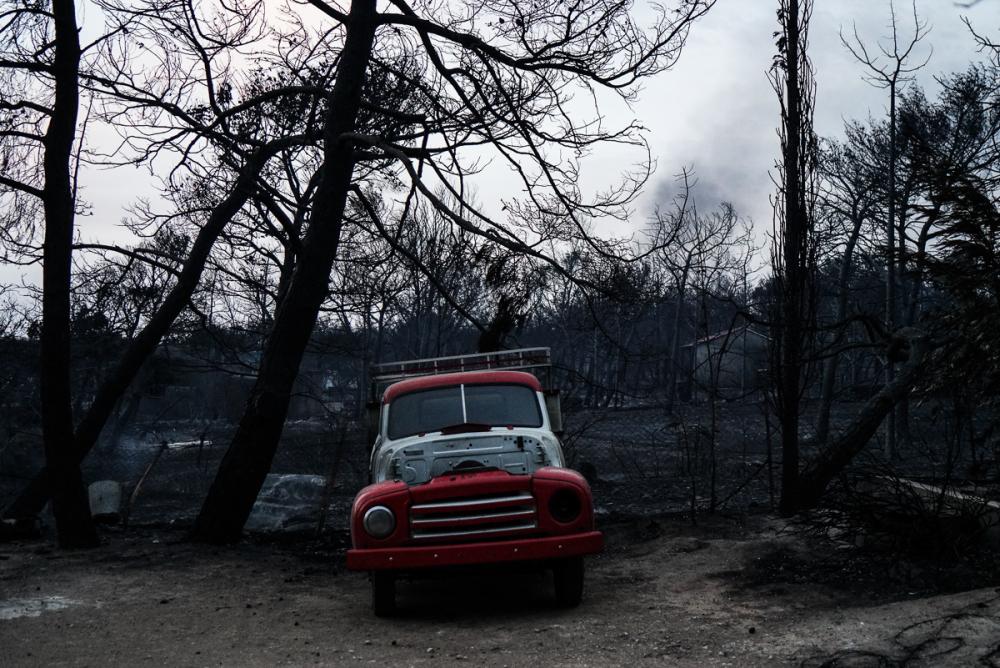 Yunanistan tarihinin en büyük yangını 5
