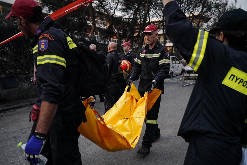 Yunanistan tarihinin en büyük yangını 6