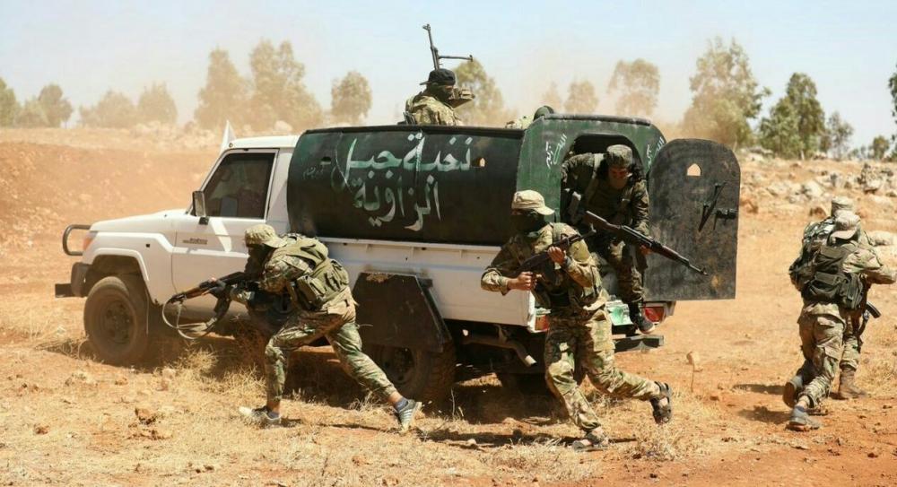 AFP HTŞ'nin özel kuvvetlerini görüntüledi 1