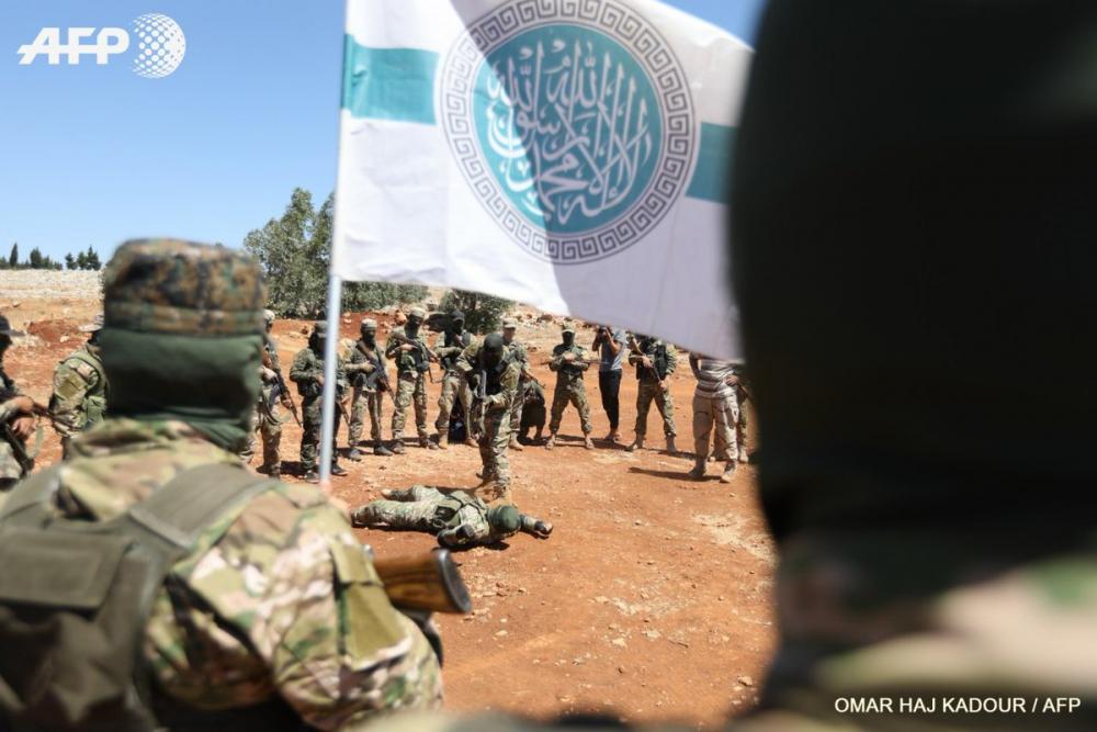 AFP HTŞ'nin özel kuvvetlerini görüntüledi 11