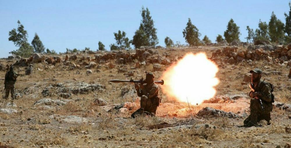 AFP HTŞ'nin özel kuvvetlerini görüntüledi 2