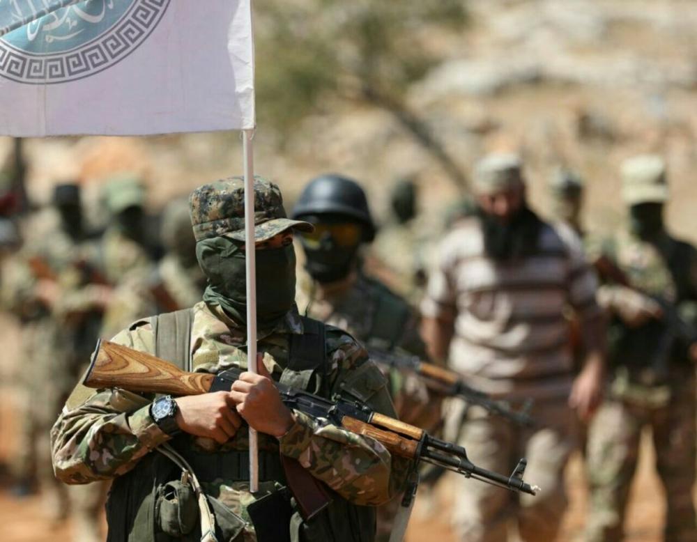 AFP HTŞ'nin özel kuvvetlerini görüntüledi 3