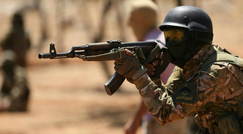 AFP HTŞ'nin özel kuvvetlerini görüntüledi 4