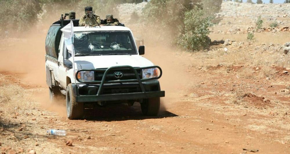 AFP HTŞ'nin özel kuvvetlerini görüntüledi 7