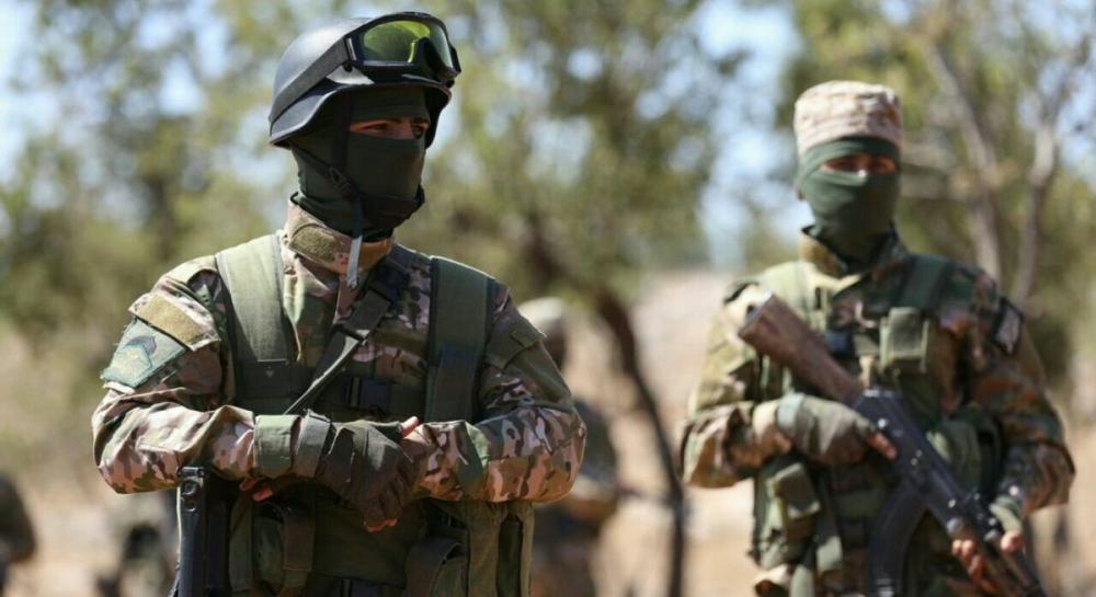 AFP HTŞ'nin özel kuvvetlerini görüntüledi 8