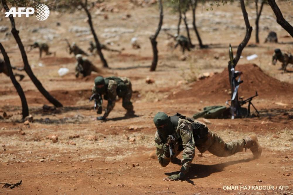 AFP HTŞ'nin özel kuvvetlerini görüntüledi 9
