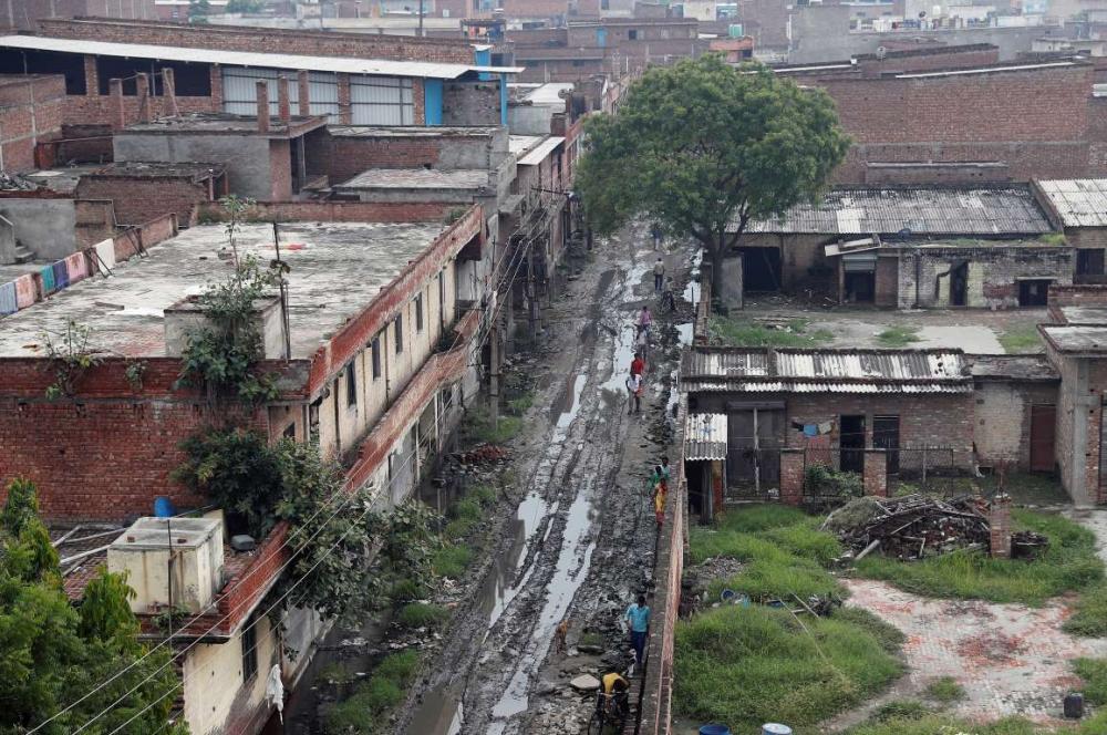 Hindistan'da dokuma fabrikalarının 'gariban' yüzü 14