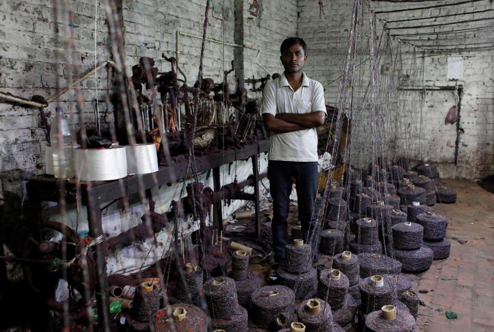 Hindistan'da dokuma fabrikalarının 'gariban' yüzü 6