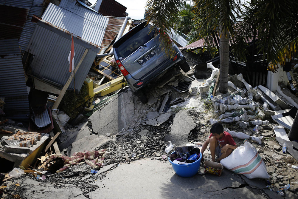 Endonezya'daki yıkıcı felaketten geriye kalanlar 16