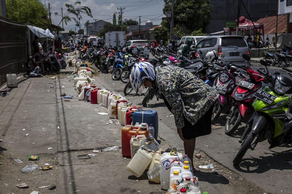 Endonezya'daki yıkıcı felaketten geriye kalanlar 17