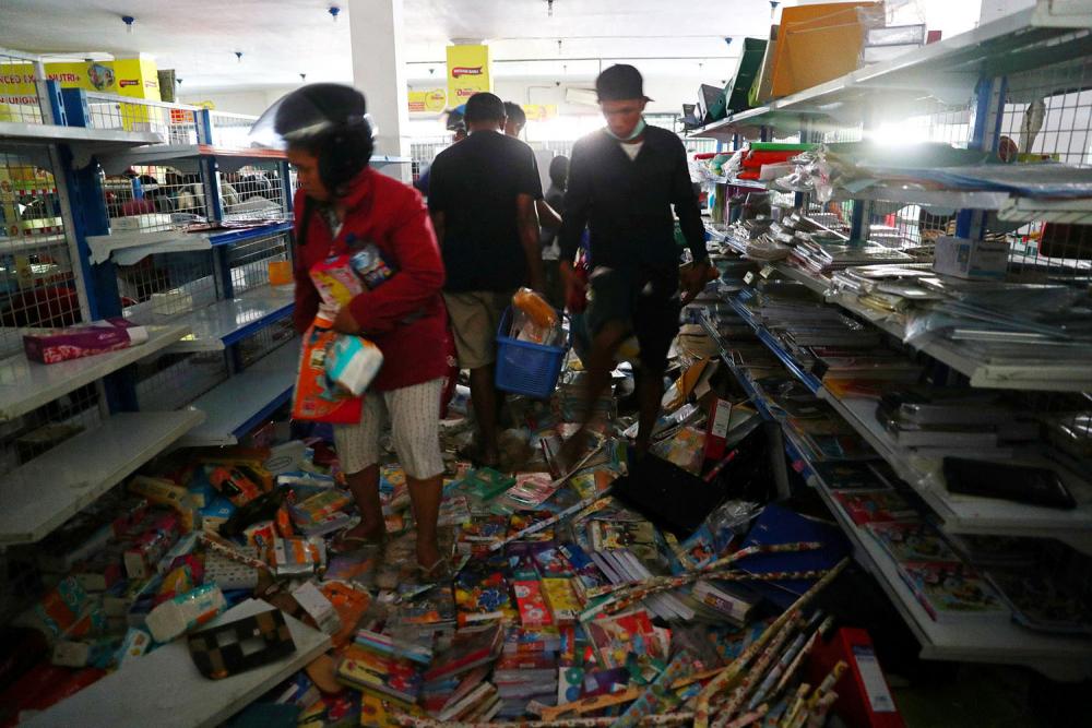Endonezya'daki yıkıcı felaketten geriye kalanlar 19