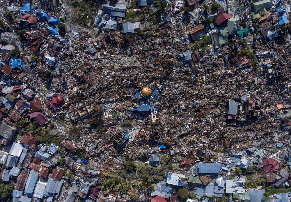 Endonezya'daki yıkıcı felaketten geriye kalanlar 2