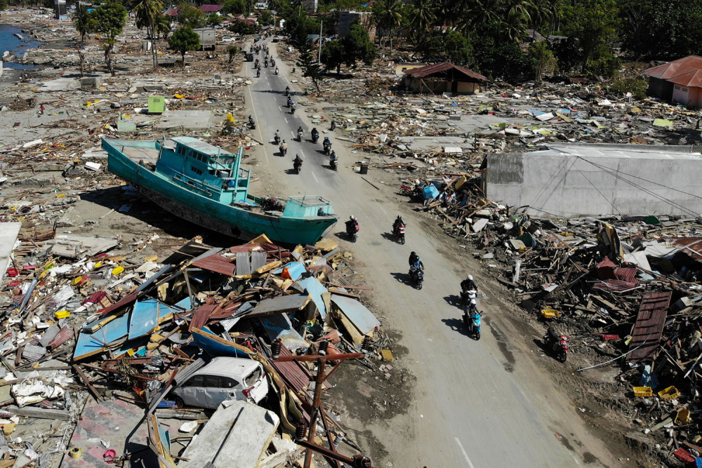 Endonezya'daki yıkıcı felaketten geriye kalanlar 20