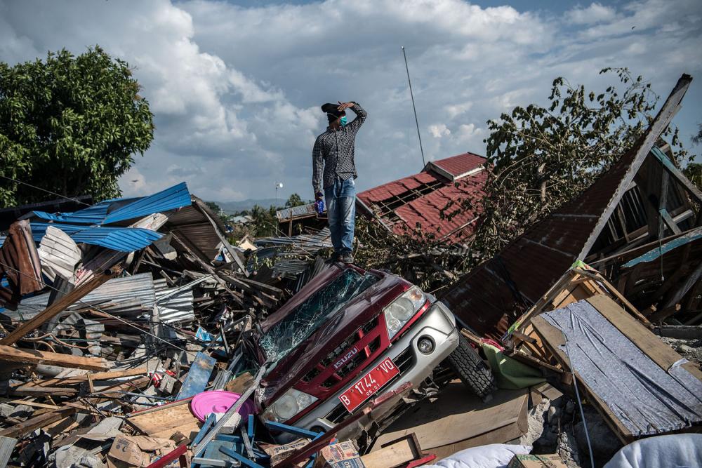 Endonezya'daki yıkıcı felaketten geriye kalanlar 21