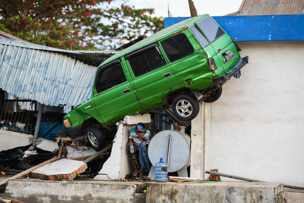 Endonezya'daki yıkıcı felaketten geriye kalanlar 4