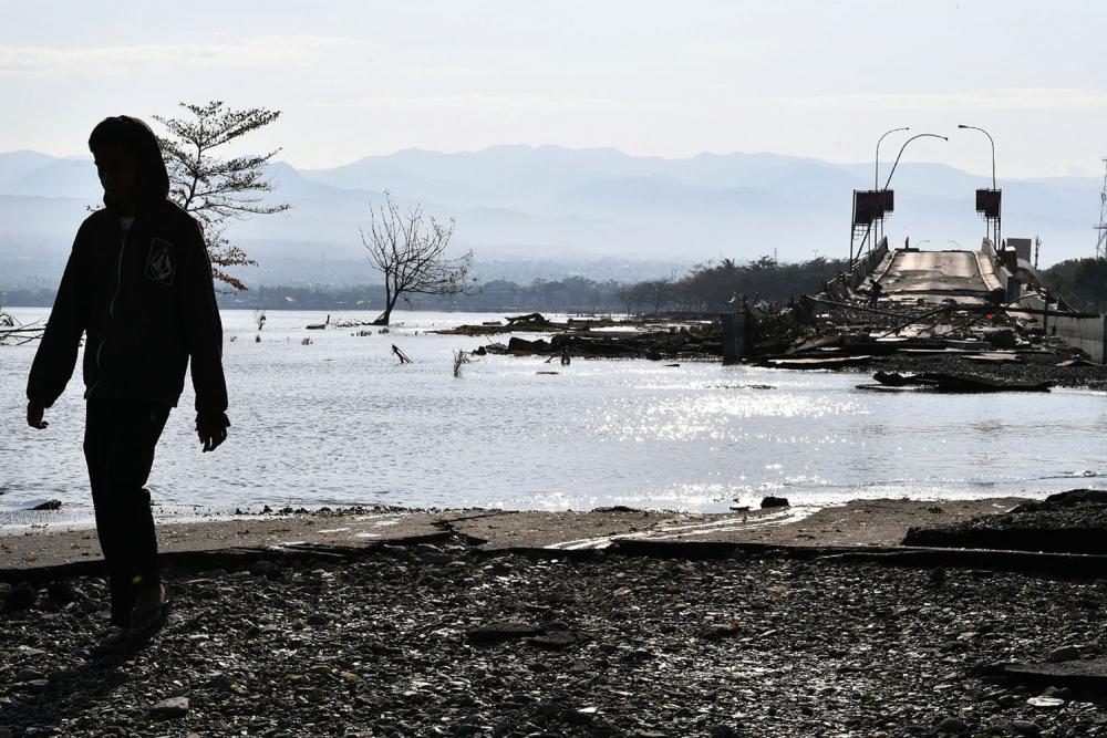 Endonezya'daki yıkıcı felaketten geriye kalanlar 6