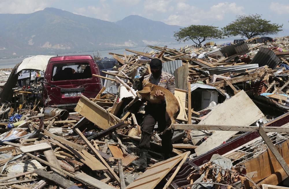Endonezya'daki yıkıcı felaketten geriye kalanlar 8