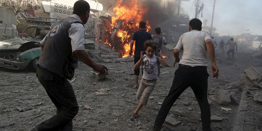 Suriye'de 8 yıllık savaşın sembol hale gelen çocukları 1