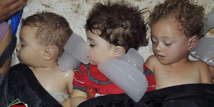 Suriye'de 8 yıllık savaşın sembol hale gelen çocukları 12