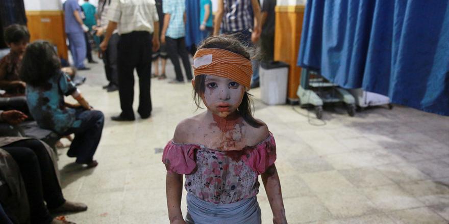 Suriye'de 8 yıllık savaşın sembol hale gelen çocukları 5