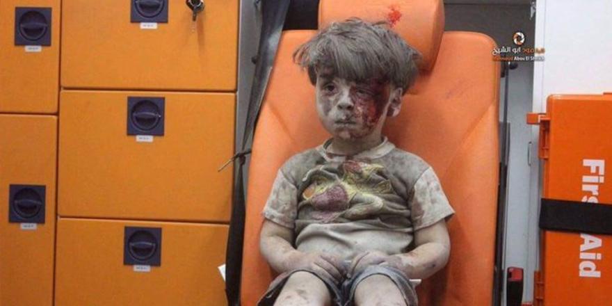 Suriye'de 8 yıllık savaşın sembol hale gelen çocukları 8