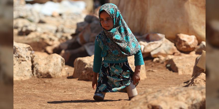 Suriye'de 8 yıllık savaşın sembol hale gelen çocukları 9