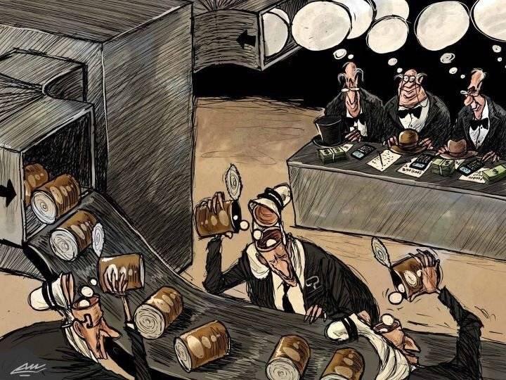 Amjad Rasmi'den 'güçlü karikatürler': Arap sokağı ve Orta 1