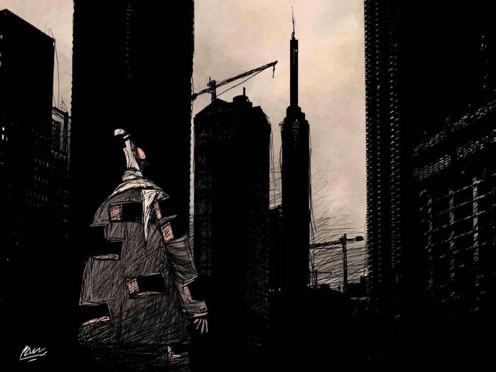 Amjad Rasmi'den 'güçlü karikatürler': Arap sokağı ve Orta 10