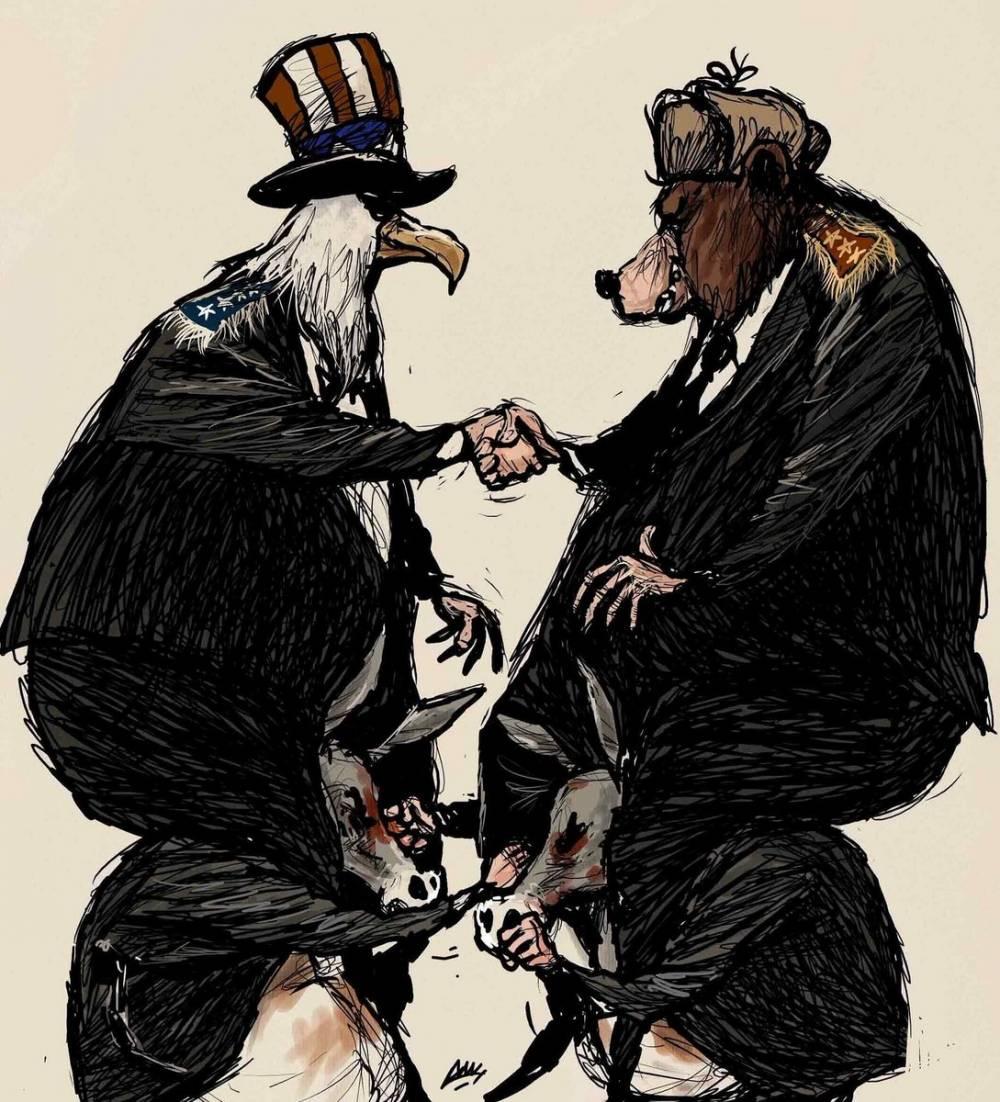 Amjad Rasmi'den 'güçlü karikatürler': Arap sokağı ve Orta 14