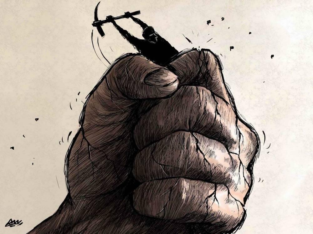 Amjad Rasmi'den 'güçlü karikatürler': Arap sokağı ve Orta 20
