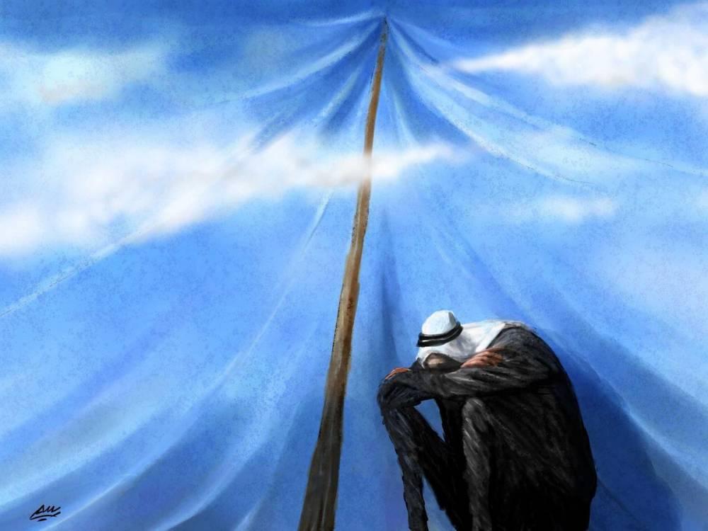 Amjad Rasmi'den 'güçlü karikatürler': Arap sokağı ve Orta 26