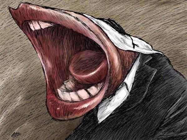Amjad Rasmi'den 'güçlü karikatürler': Arap sokağı ve Orta 5