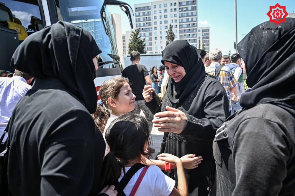 'Gönüllü olarak' Türkiye'den Suriye'ye geri gönderil 15