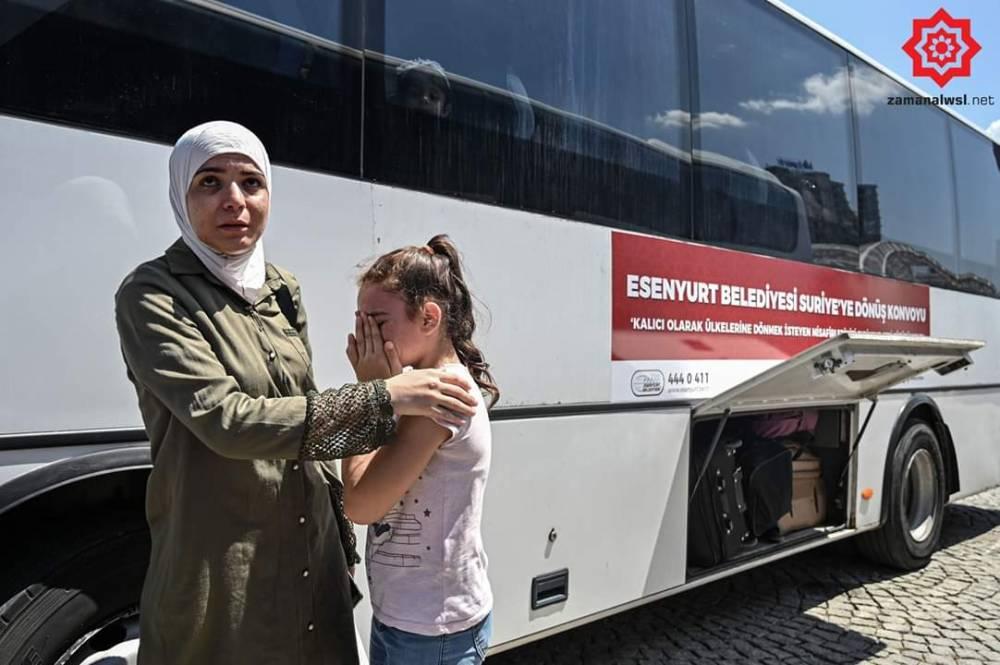 'Gönüllü olarak' Türkiye'den Suriye'ye geri gönderil 2